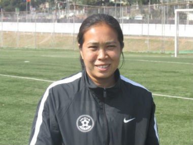 File image of Oinam Bembem Devi. Twitter @IndianFootball
