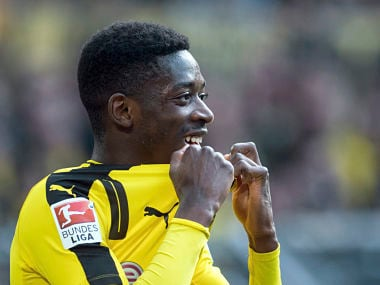 File image of Dortmund's Ousmane Dembele. AP