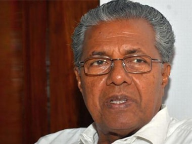 File image of Chief MInister Pinarayi Vijayan. PTI