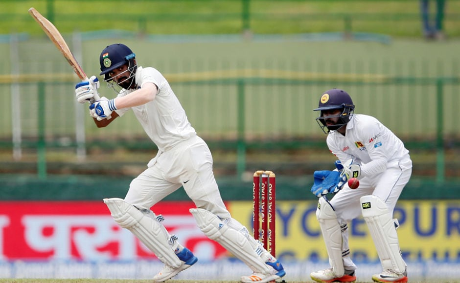KL Rahul played stylishly to equal the record of 7 consecutive half-centuries in Tests, he became the the first Indian to achieve the feat. Reuters