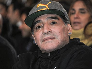 Argentina great Diego Maradona signs three-year contract to join Belarusian club Dynamo Brest as chairman