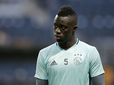 Football Soccer - Ajax Amsterdam Training - Friends Arena, Stockholm, Sweden - 23/5/17 Ajax's Davinson Sanchez during training Reuters / Andrew Couldridge Livepic - RTX379ML