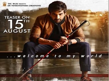 Ravi Teja in Raja The Great first-look poster. Image via Twitter