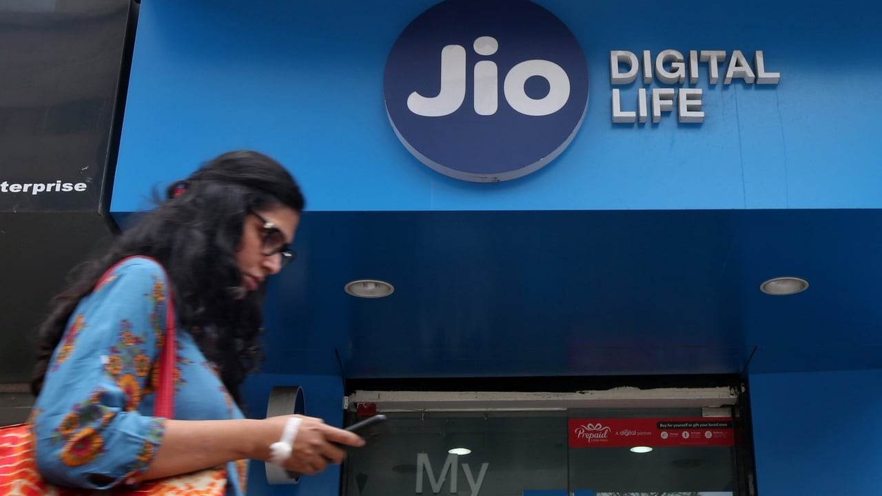 File image of a Reliance Jio Digital Life Store. Reuters
