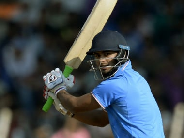 Rishabh Pant notched a meagre 107 runs for India 'A' in their recent tri-series in South Africa. AFP