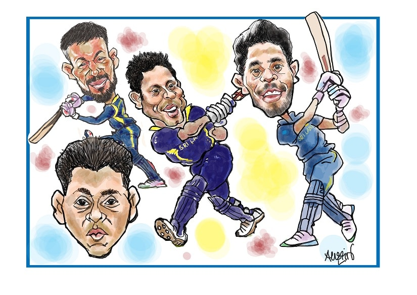 The Sri Lankan cricket team needs to play for pride. Illustration courtesy Austin Coutinho