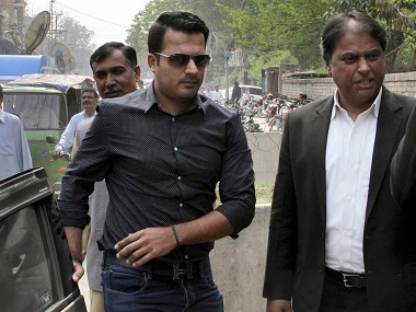 File image of banned Pakistani cricketer Sharjeel Khan. AP