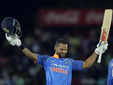 BCCI nominate Shikhar Dhawan, Smriti Mandhana for Arjuna award