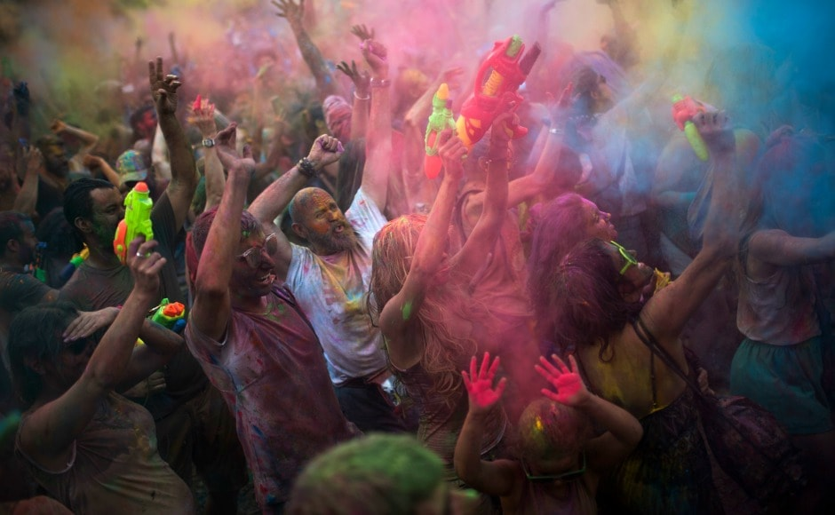 The festival of Holi, which is primarily celebrated in India and Nepal, in recent has become quite popular in some European countries. AP