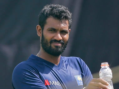 Sri Lanka's stand-in captain Chamara Kapugedera.