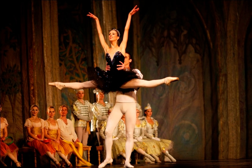 From Swan Lake, Russian Ballet Company