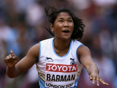 Asian Athletics Championships 2019: Swapna Barman bags silver in womens heptathlon; Jinson Johnson pulls out with injury