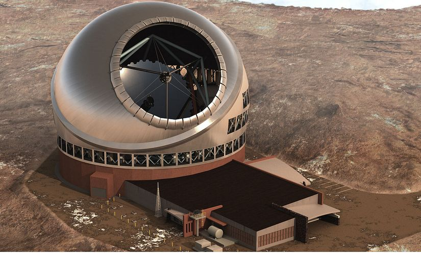 Thirty Meter Telescope. Image: Wikimedia