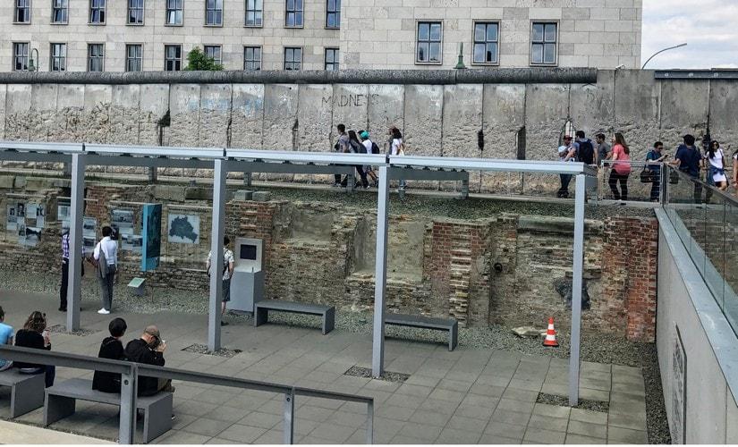 Topography of Terror, an open air museum that gives a chronology of the evil methods of the SS and Nazis. Image: Nimish Sawant
