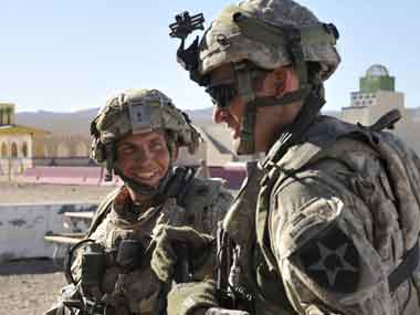 The US Army has been in Afghanistan for nearly 16 years. AP