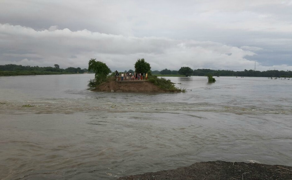 Nitish said that he has spoken to Prime Minister Narendra Modi and home minister Rajnath Singh to brief them about the flood scenario. ETV