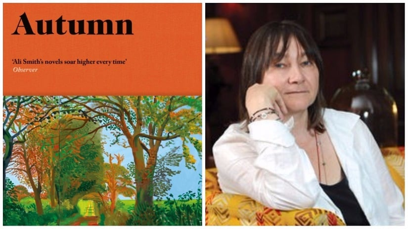 Autumn by Ali Smith is on the Man Booker Prize 2017 long-list. Images courtesy Penguin Randomhouse