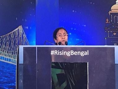 Mamata Banerjee at the Rising Bengal event. News18