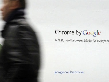Google Chrome. Reuters.