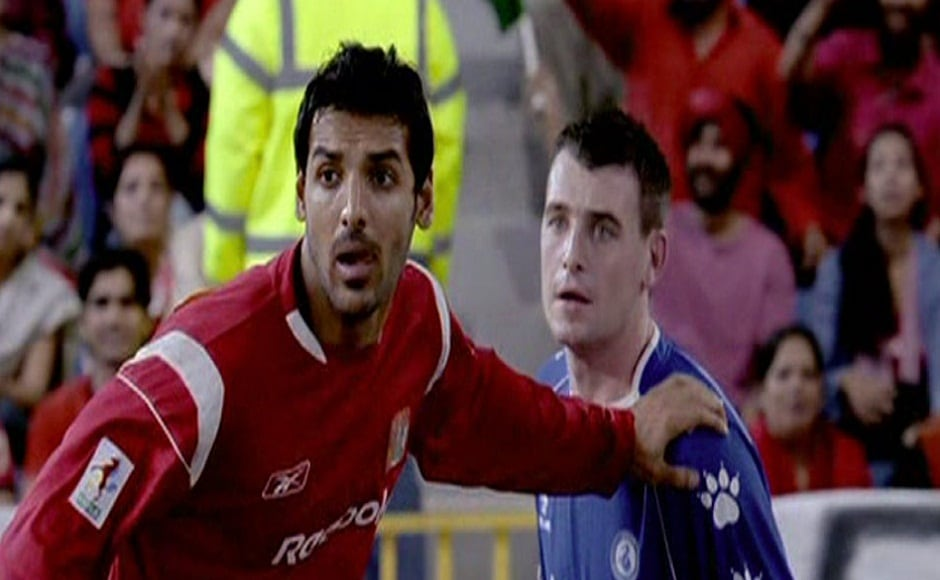 Vivek Agnihotri's 2007 film Dhan Dhana Dhan Goal, starring John Abraham, boasted of the air of a European professional football league