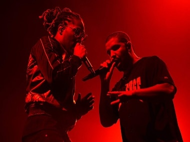 Drake and Future in concert. Image from Twitter.
