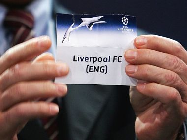 Hoffenheim drew Liverpool in the Champions League draw held on Friday. Image courtesy: Twitter @lfc