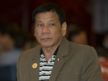 File image of Philipinnes president Rodrigo Duterte. AP