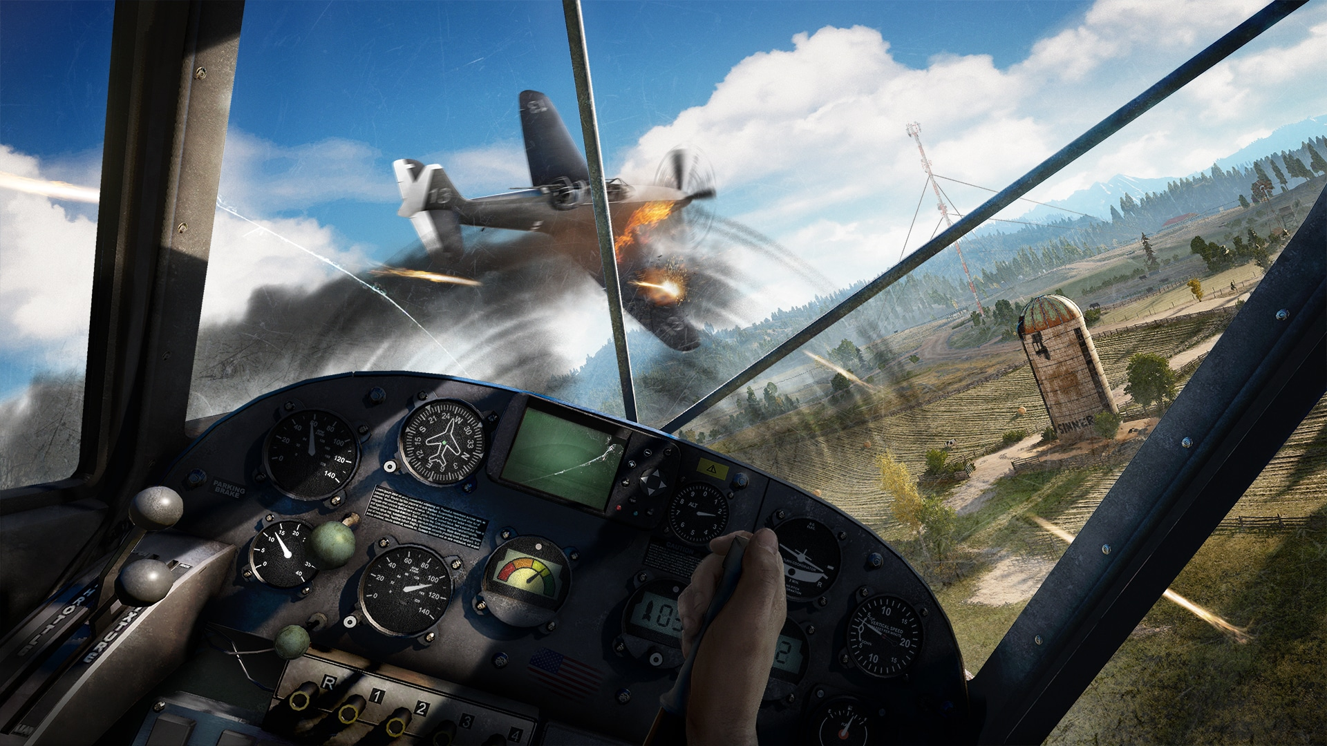 In Far Cry 5, your dinky little seaplane will successfully take on sleek and powerful WWII era fighters