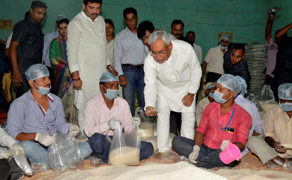 Chief Minister Nitish Kumar visited relief camps in Purnea and took stock of the situation. He also held a high-level ministerial meeting. Prime Minister Narendra Modi is expected to make an aerial survey of flood affected districts on 26 August. PTI