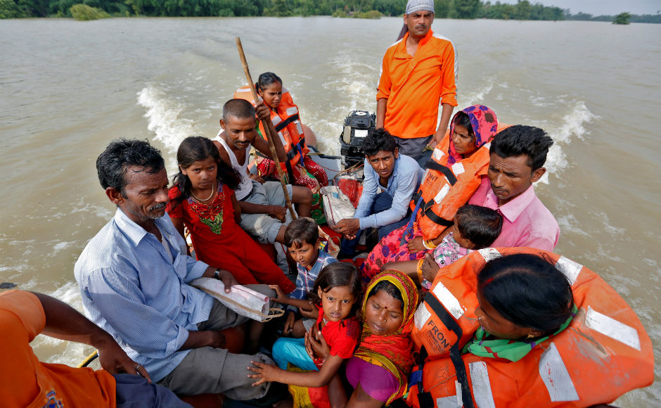 Over seven lakh people have been evacuated until now by the rescue teams of the army, the National Disaster Response Force, and the State Disaster Response Force. The government has set up 1,085 relief camps in which 2,29,097 people are living. Reuters