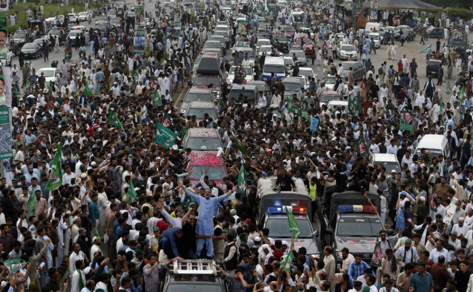 The road show also comes after the Pakistan Supreme Court disqualified Sharif over the Panama Papers scandal. AP
