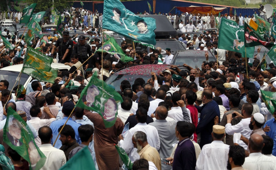 Authorities estimated that up to 8,500 people and 950 vehicles were part of the procession. AP