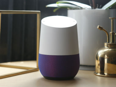Google Home. Reuters.