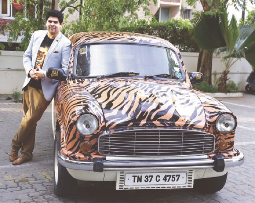 Wild Tiger Rum's founder Gautom Menon