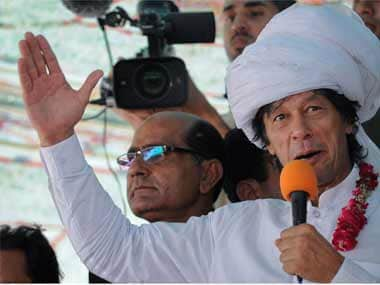 Providing Nawaz Sharif official protocol at Islamabad airport is shameful: Imran Khan
