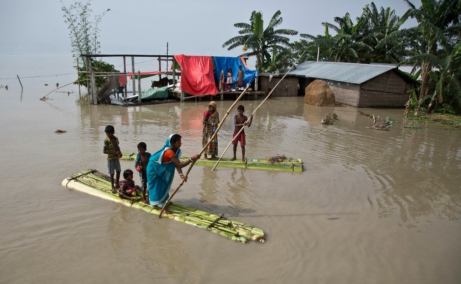 According to the Assam State Disaster Management Authority's report dated 15 August, more than 1.82 lakh hectares of crop have been affected. AP