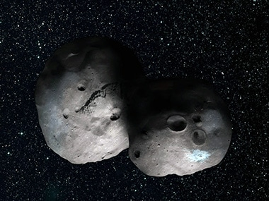 The Kuiper Belt Object. Image: NASA.