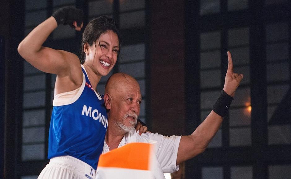 Priyanka Chopra brought to fore professional boxer MC Mary Kom's struggle in Omung Kumar's 2014 film Mary Kom