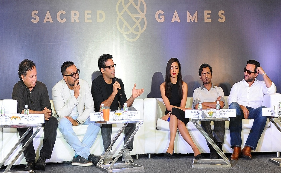 Netflix India on 21 August announced its first regional show Sacred Games, an adaptation of Vikram Chandra's novel of the same name