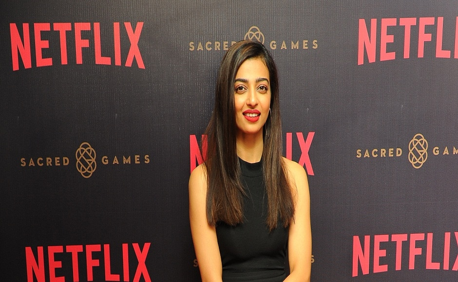 Radhika Apte will essay the role of a R&AW officer in Sacred Games