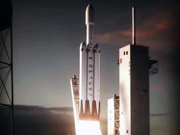 Elon Musk shares animation of the SpaceX Falcon Heavy scheduled for a maiden flight in November