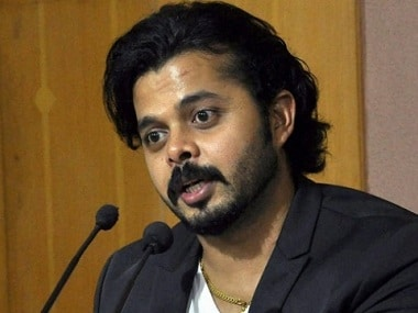 File image of S Sreesanth. PTI