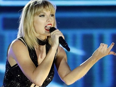 Taylor Swift in concert. Image from Twitter.