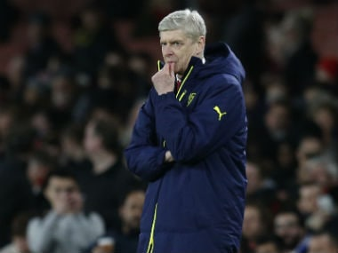 File photo of Arsene Wenger. AFP
