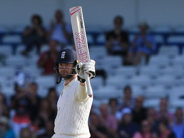 File image of England's Mark Stoneman who is most likely to partner Alastair Cook at the top of the order. AFP