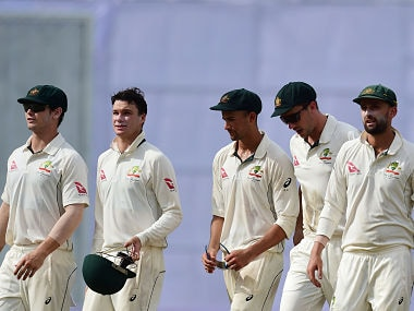 Australia are considering playing three spinner in the second Test against Bangladesh. AFP