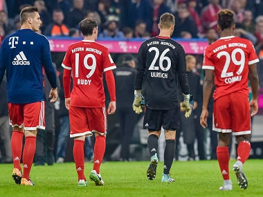 Bundesliga: Bayern Munich held by Wolfsburg as Sven Ulreich's blunder costs them chance to top table