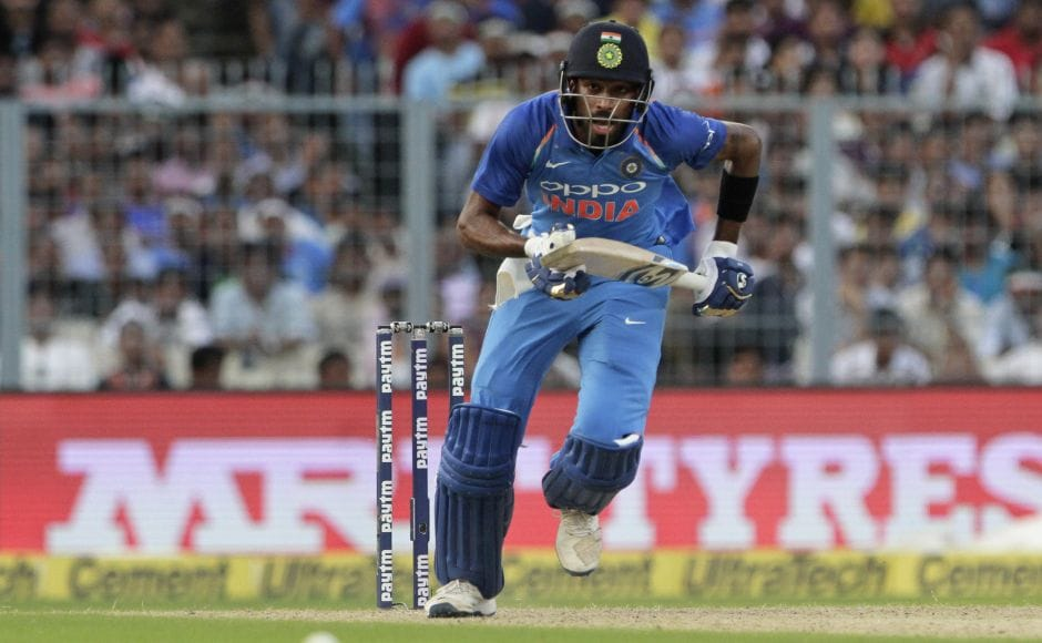 After Kohli's dismissal, India lost momentum. Hardik Pandya was unable to accelerate as Australia restricted the home side to 252 all out. AP
