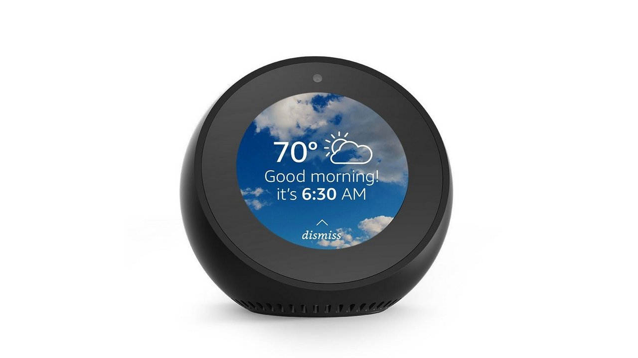 The Amazon Echo Spot
