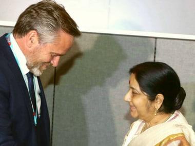 Sushma Swaraj meets counterparts from five nations, pushes Indias development agenda